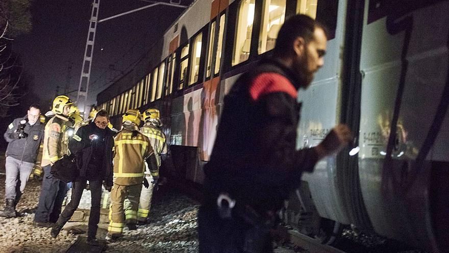 L'escàs control és la causa del xoc entre dos trens a Castellgalí el 2019