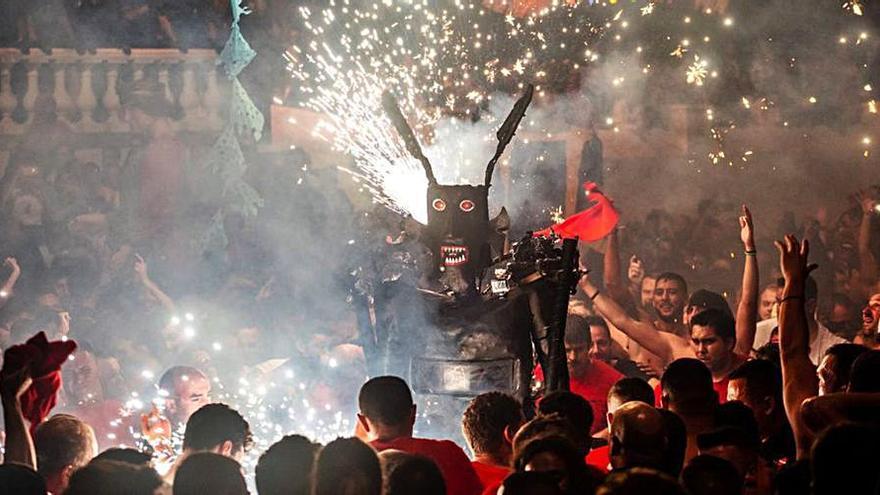 El Diablo de Tijarafe no danzará este año por culpa de la pandemia