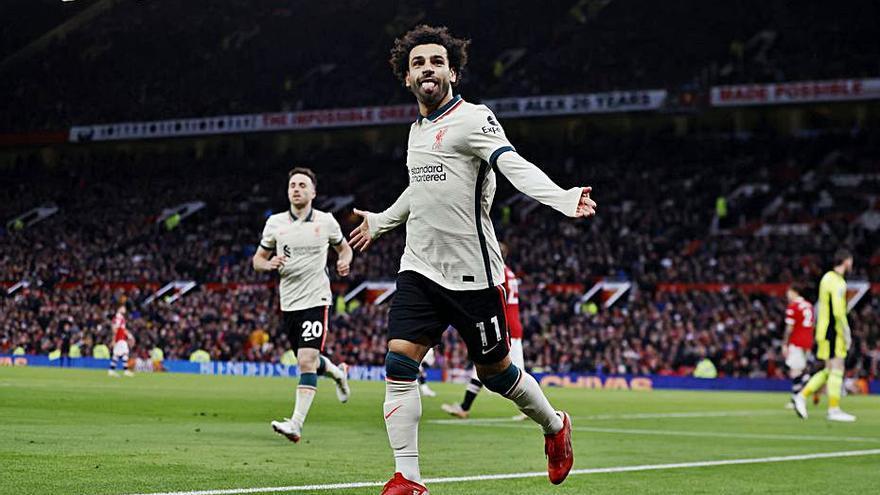 Maneta del Liverpool a Old Trafford