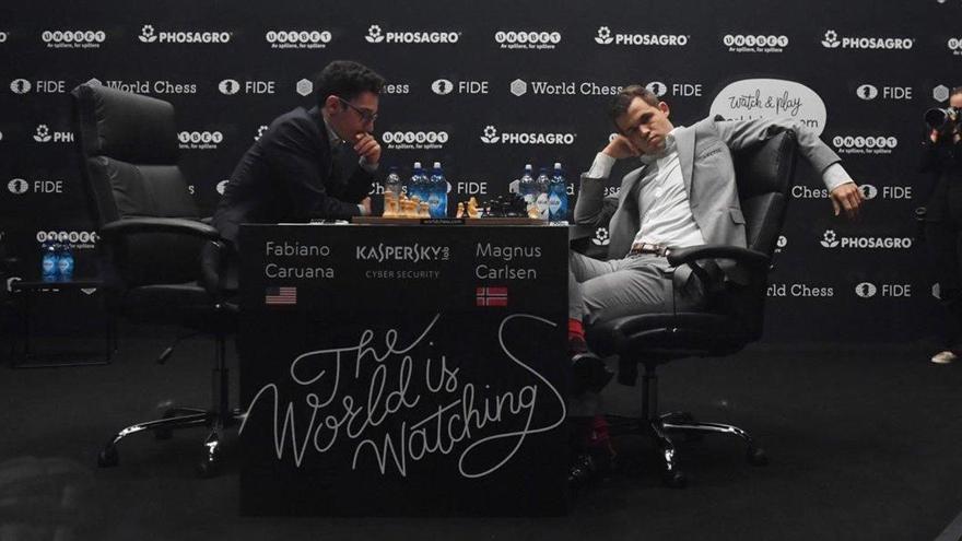 Carlsen muestra debilidades