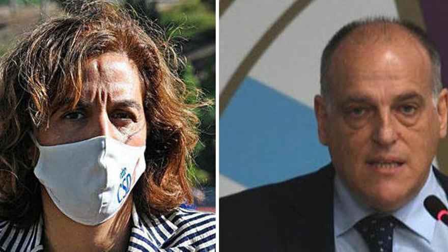 A Coruña pide la dimisión de Irene Lozano, reprueba a Tebas y exige su inhabilitación