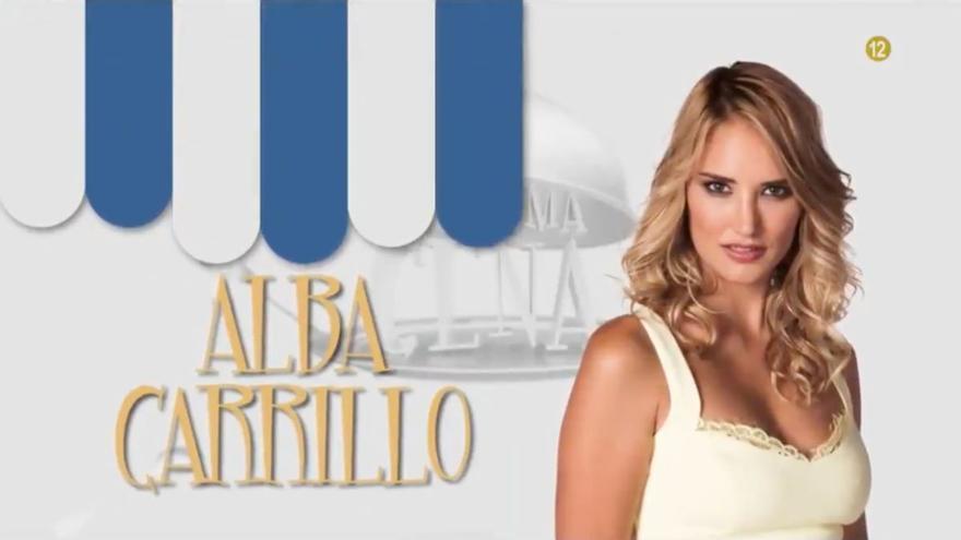 Alba Carrillo también será concursante de la nueva temporada de 'La última cena'