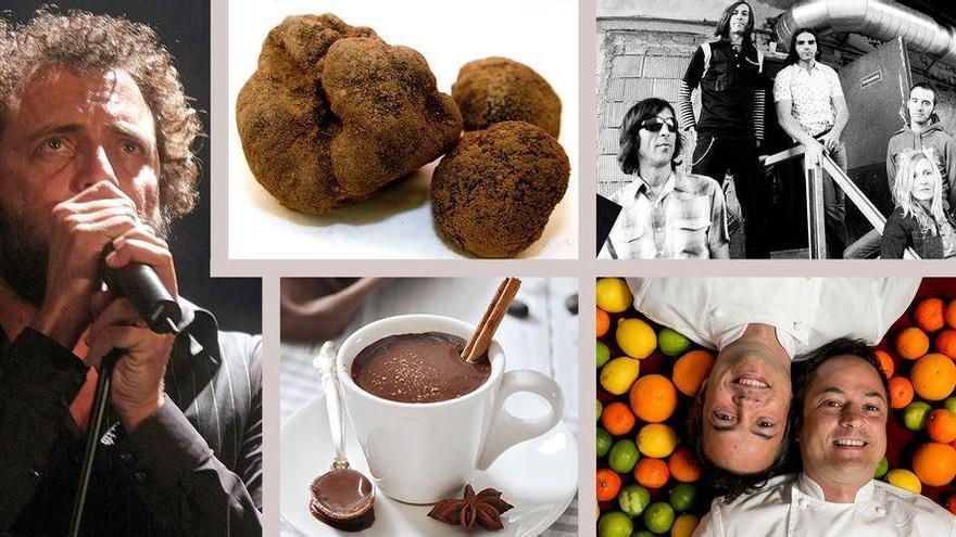 Alcachofa, trufa y chocolate, protagonistas en los planes para el fin de semana en Castellón