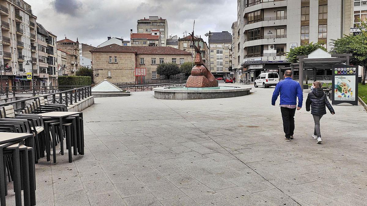 Una imagen de Carballiño el pasado 13 de octubre, antes de las restricciones máximas.   | // CARLOS PETEIRO