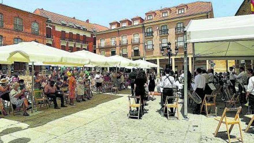 """Broche local en el festival """"Ciudad de Benavente"""""""