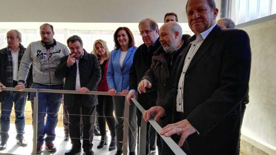 Herrera inaugura la villa romana recuperada en Camarzana de Tera