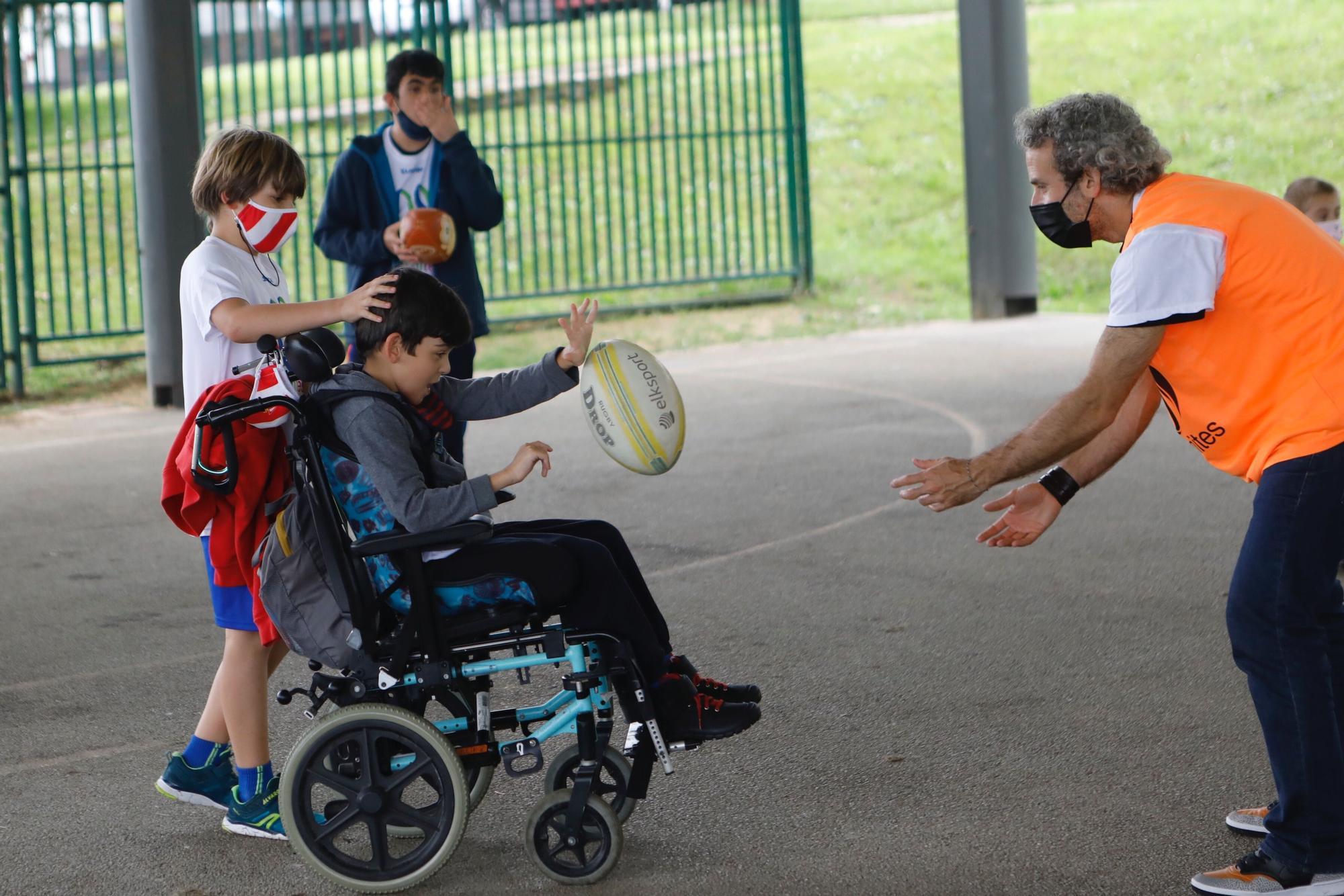 Rugby inclusivo en la Quinta San Eutiquio