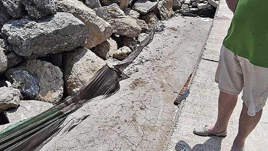 Vecinos de Can Picafort denuncian el dragado del puerto ante el Seprona