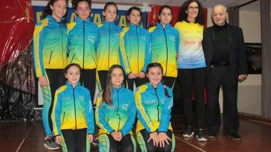 La Calzada reúne esta temporada a 230 deportistas en 17 equipos