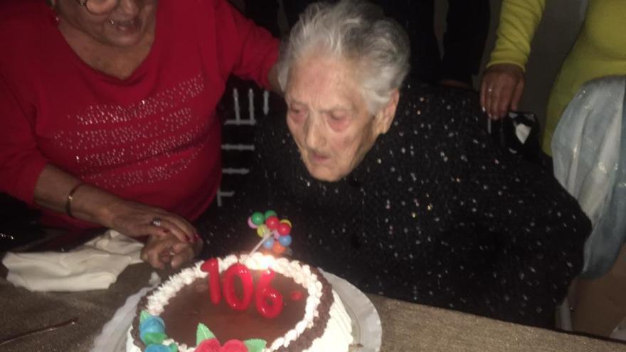 Fallece la abuela de Jumilla, Magdalena García, a los 106 años