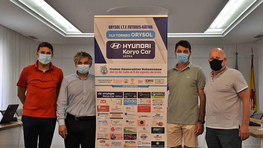 Un total de 64 tenistas arrancan la fase previa del torneo Orysol