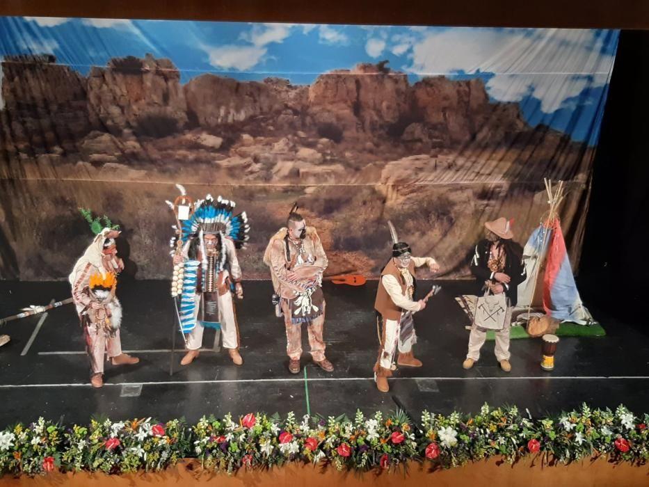 El cuarteto del Lama, 'Los navajos de Albacete'