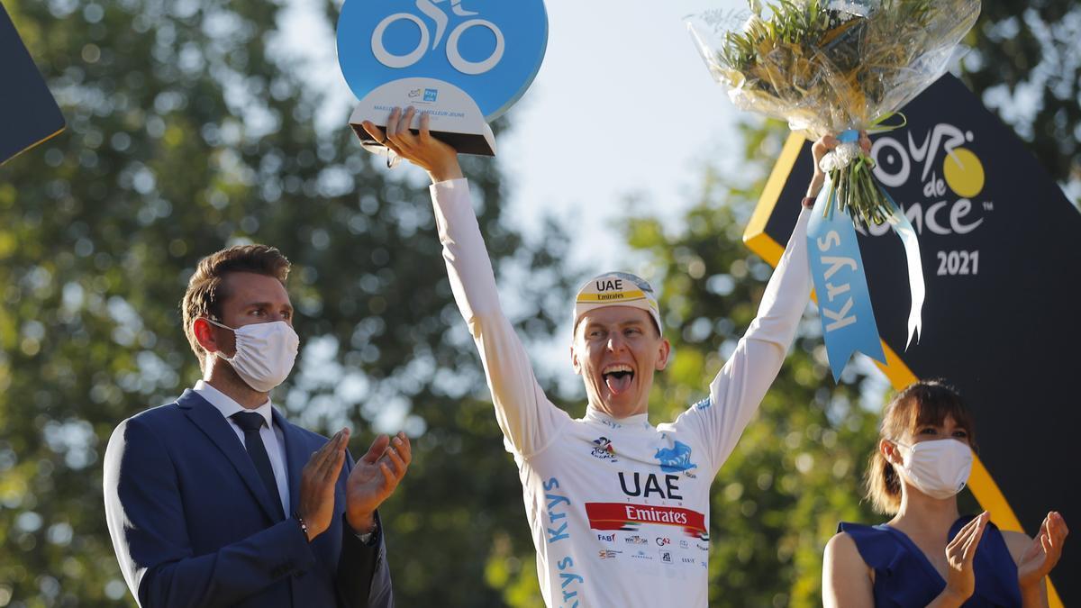 Una imagen de la edición anterior del Tour de Francia.