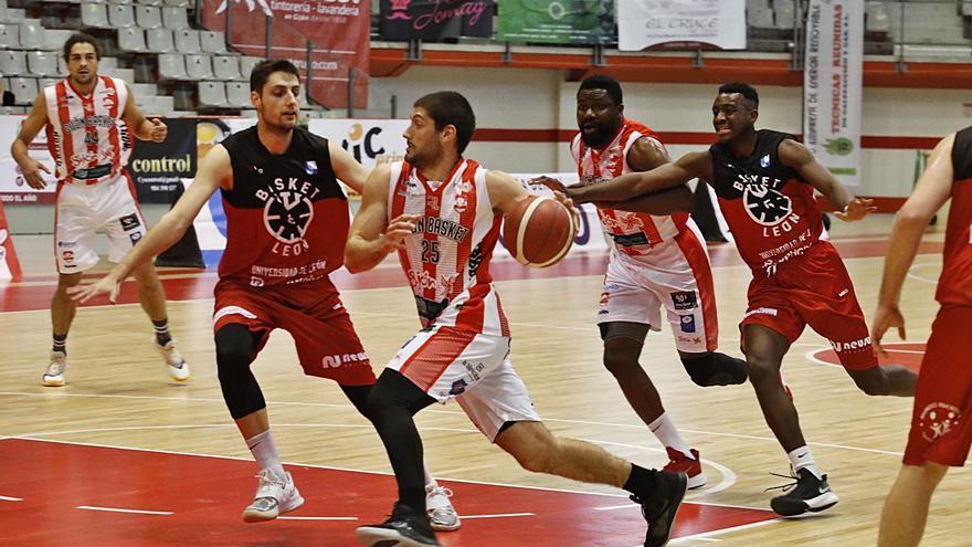El Gijón Basket frena al León