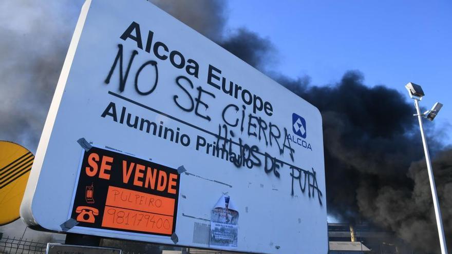 Red Eléctrica interrumpe la energía de Alcoa y Arcelor