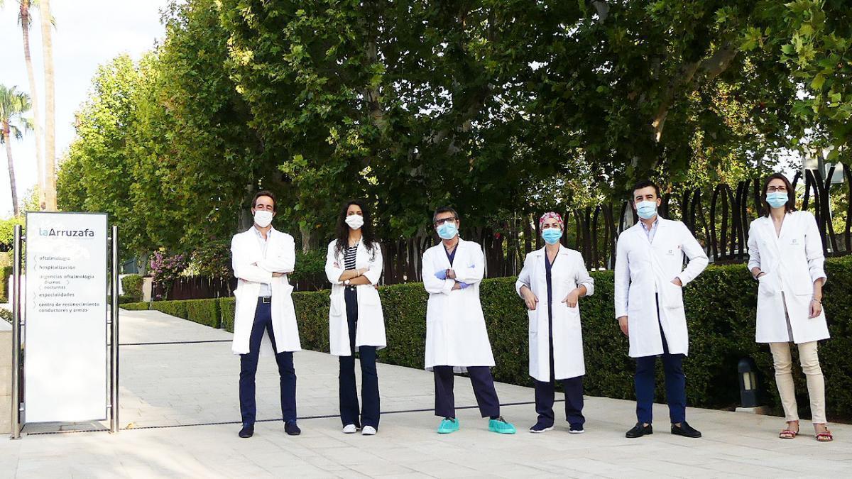 El hospital La Arruzafa realiza tres de cada diez trasplantes de córnea en Andalucía