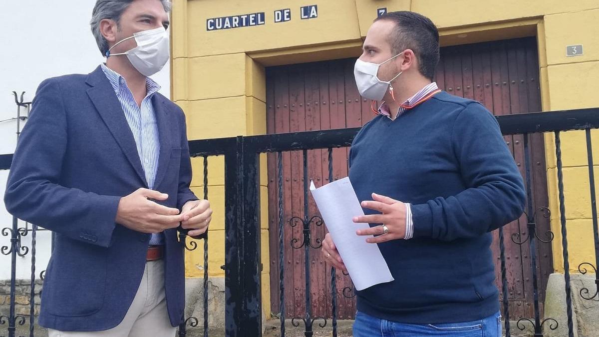Lorite denuncia que el Gobierno no tiene prevista la rehabilitación del cuartel de la Guardia Civil de Espejo