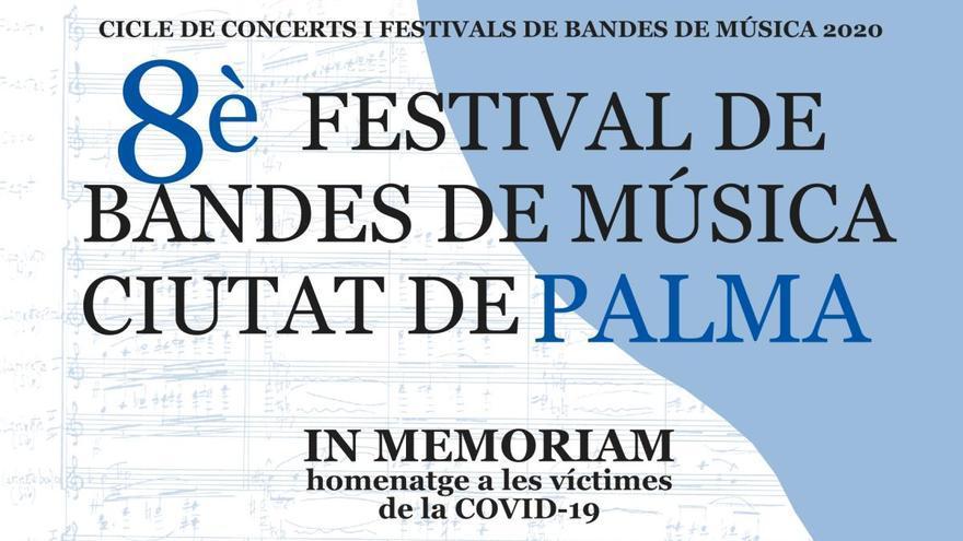 Homenaje poético y musical a las víctimas de la Covid-19 en el cementerio de Palma