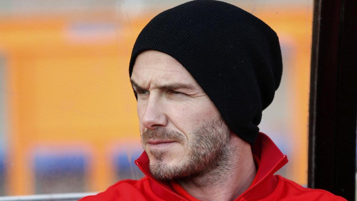 David Beckham en una imagen de archivo.
