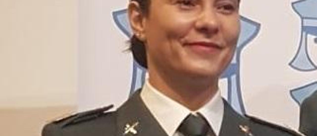 La sargento Gloria Moreno.