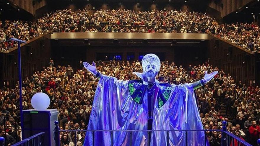 La actuación de Manu Sánchez en el Teatro Cervantes, suspendida