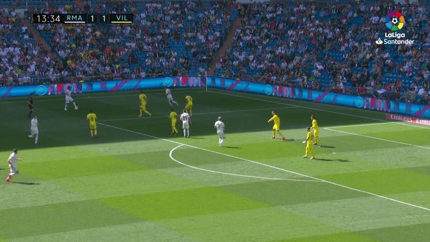 LaLiga Santander: Los goles del Real Madrid - Villarreal (3-2)