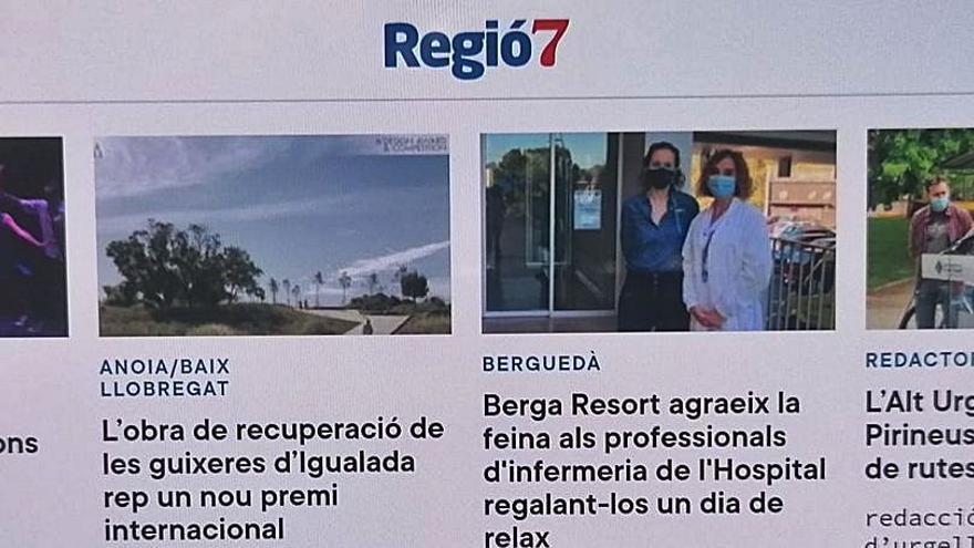 Regió7.cat fa un altre pas endavant amb un nou disseny