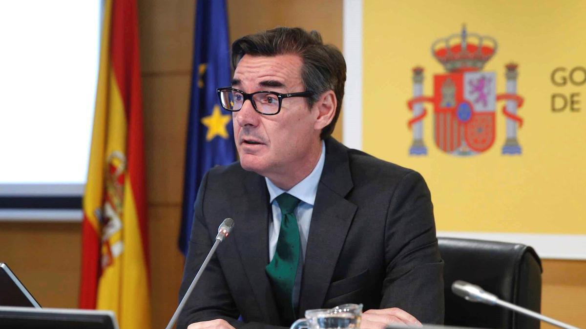 Carlos San Basilio, secretario general del Tesoro.