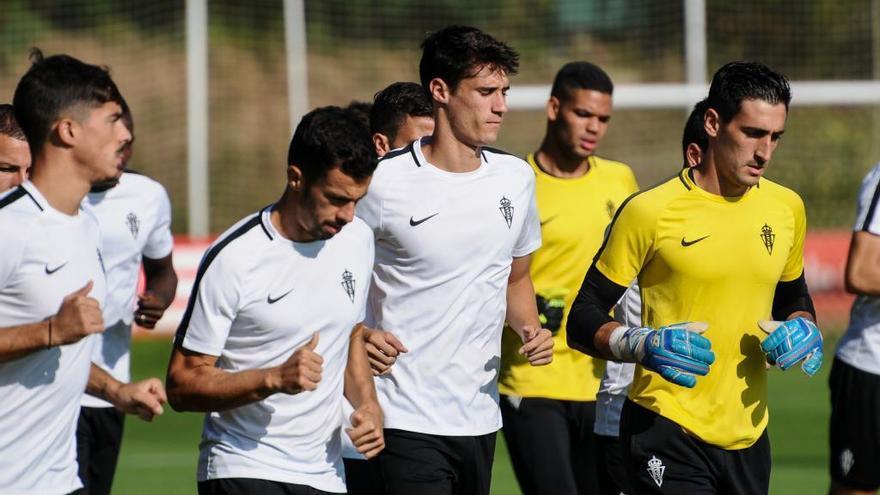 Pablo Pérez continuará en el Sporting y Rachid rescinde su contrato