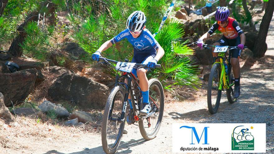 Estepona, testigo del regreso del Circuito Provincial de Ciclismo Diputación de Málaga para escuelas