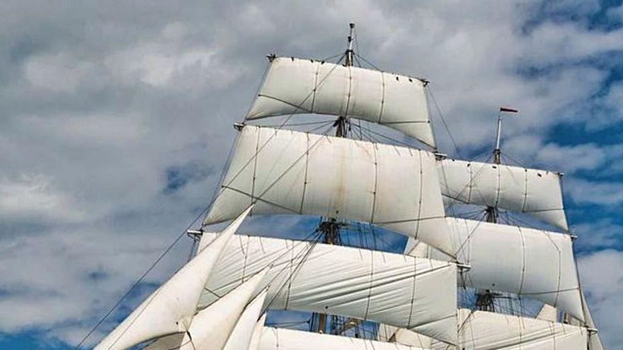 Un velero noruego de 1914 recala el sábado en el puerto dentro de su vuelta al mundo