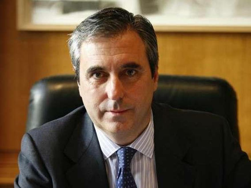 Juan Riva, presidente de Flota Suardiaz, en su despacho de Madrid.