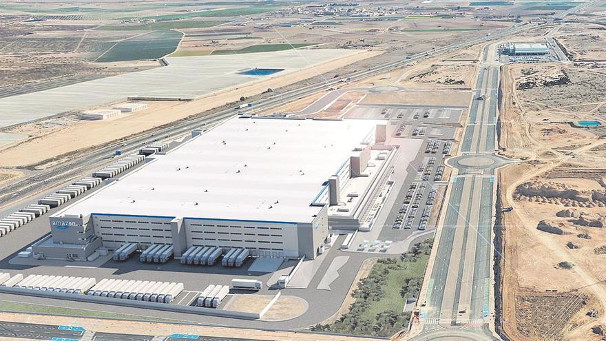 Amazon busca empleados para su segundo centro logístico en Murcia