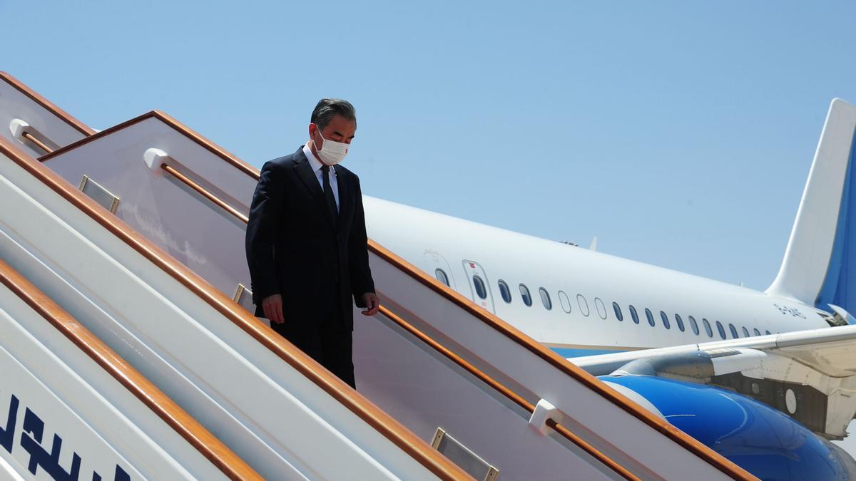 Wang Yi, el ministro de Exteriores de China.