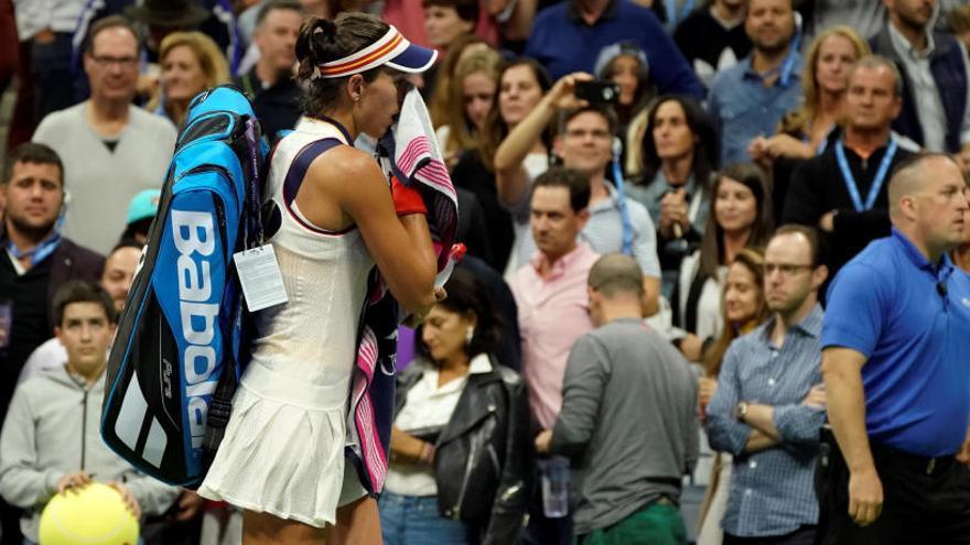 Muguruza cae ante Kvitova y dice adiós al Abierto de EEUU