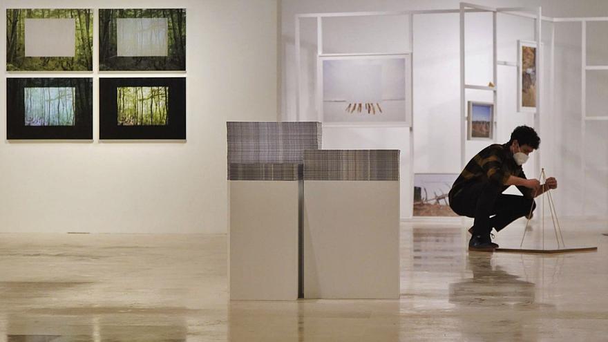 El artista Antonio Guerra ofrece su visión personal del paisaje en el Etnográfico de Castilla y León en Zamora