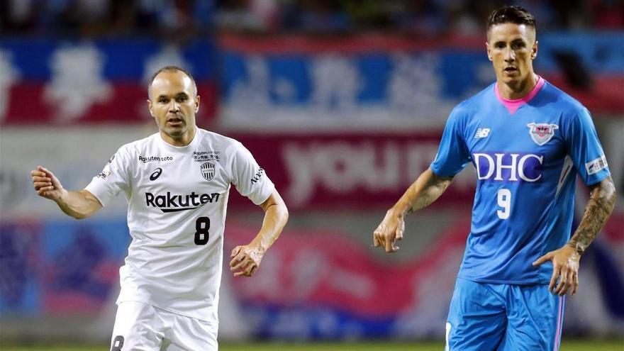 Torres e Iniesta afrontan una nueva temporada en Japón