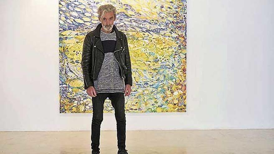 """Rafel Joan: """"Mi obra es como la espuma del mar, densa y en movimiento"""""""