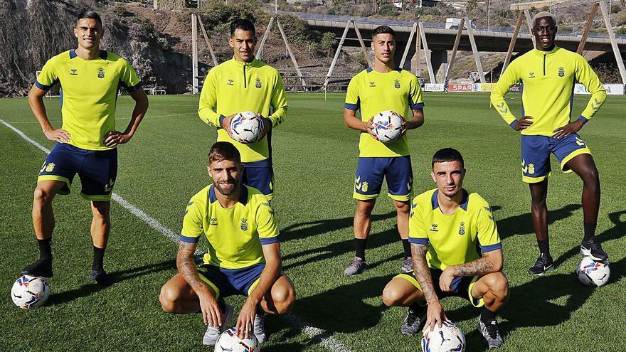 Nueve goles y seis caras: nadie marca más que la UD