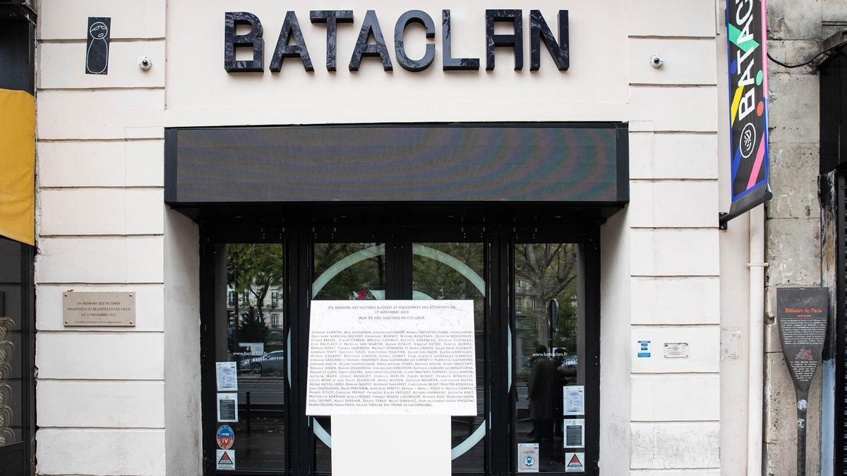 La Sala Bataclan de París, en el quinto aniversario del atentado