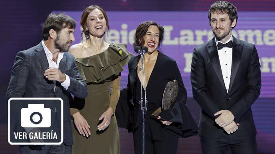 'Tarde para la ira' triunfa en los Premios Forqué
