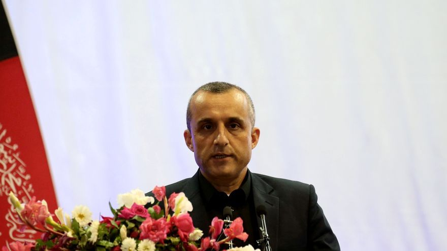 El vicepresident de l'Afganistan diu que és «el president interí legítim» i demana «unir-se a la resistència»