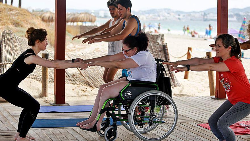 Baño por la esclerosis múltiple