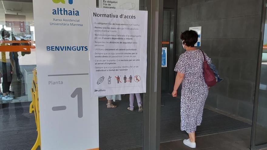 Els hospitals de Manresa mantenen 8 persones ingressades per coronavirus