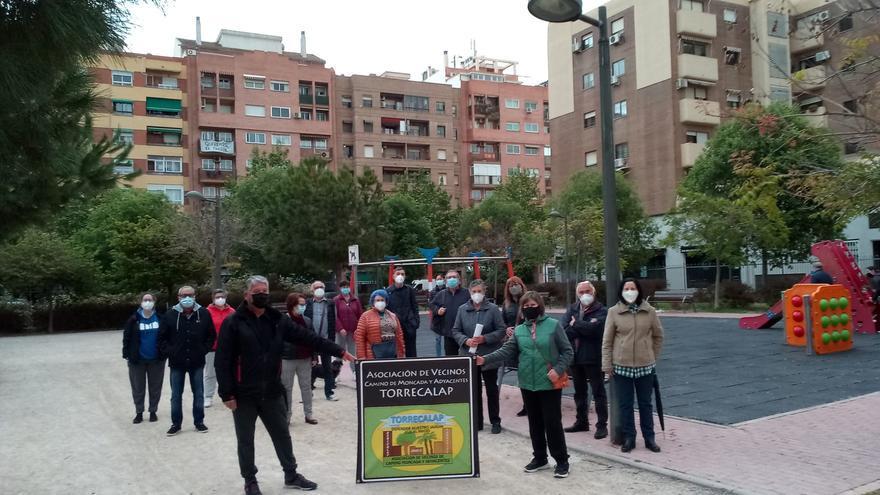 Los vecinos de Torrecalap anuncian movilizaciones contra el campo de fútbol de Torrefiel