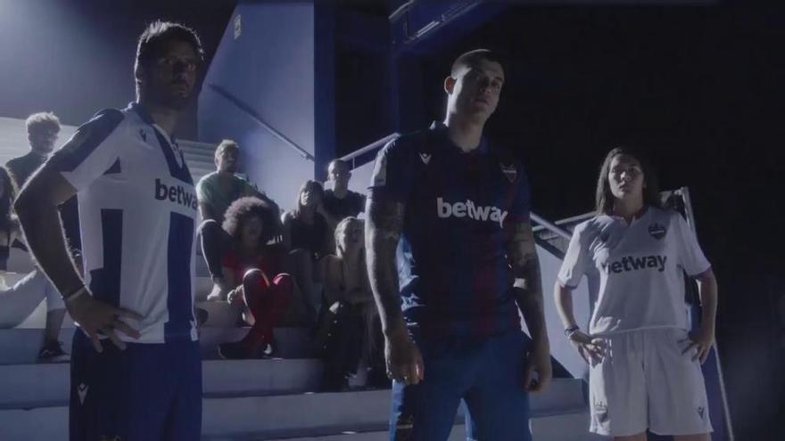 Así es la nueva equipación del Levante UD para la temporada 2019/20