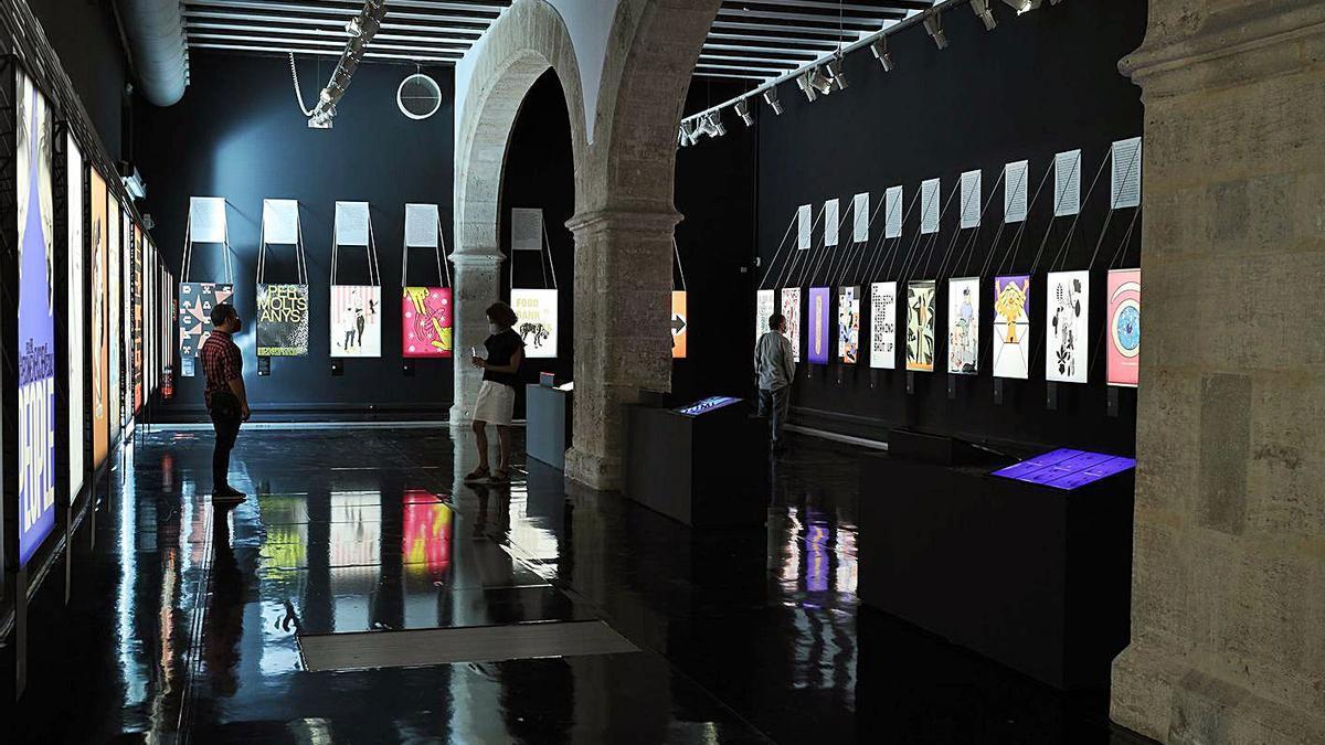 L'exposició «Coronacrisis i cultura: propostes de creadors» a La Nau. | LEVANTE-EMV