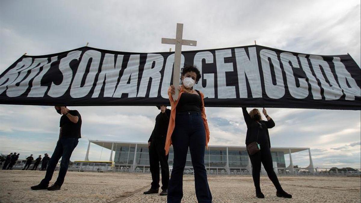 Uno de cada cuatro muertos en el mundo por covid-19 se entierra en Brasil