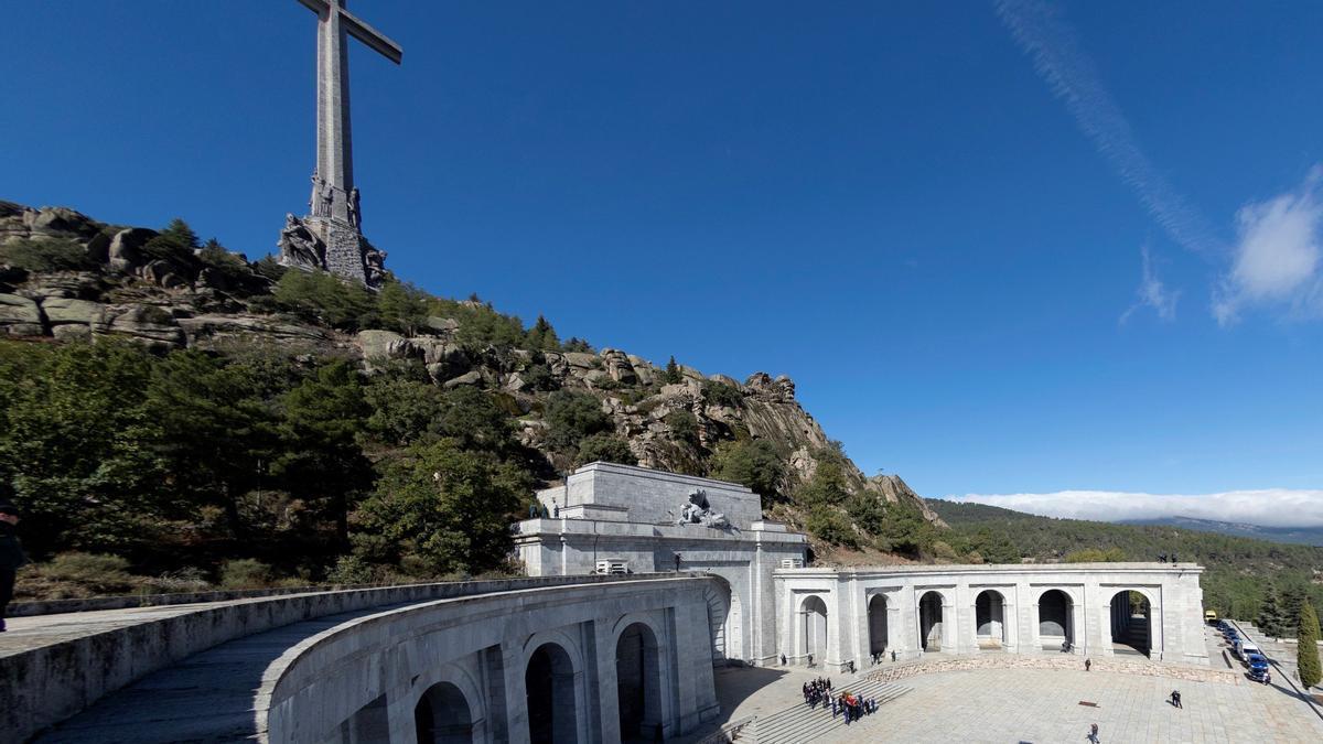 Una imagen del Valle de los Caídos