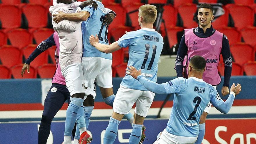 El Manchester City asalta París